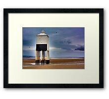 Burnham Low Lighthouse Framed Print