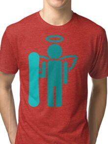 snowboard : board angel  Tri-blend T-Shirt