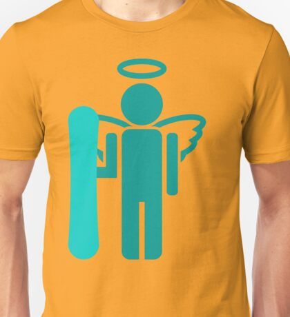 snowboard : board angel  Unisex T-Shirt