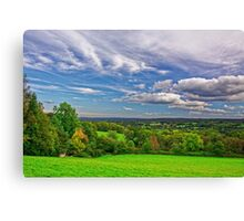 Beautiful English Countryside #2, Redhill, England Canvas Print