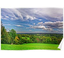 Beautiful English Countryside #2, Redhill, England Poster