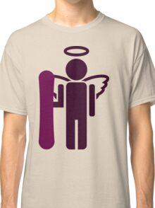 snowboard : board angel  Classic T-Shirt