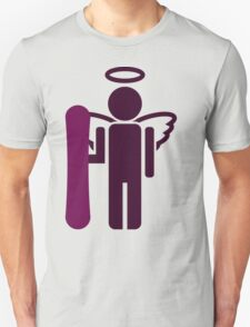snowboard : board angel  Unisex T-Shirt