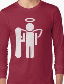 snowboard board angel  Long Sleeve T-Shirt