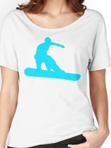 snowboard silhouettes Women's Relaxed Fit T-Shirt