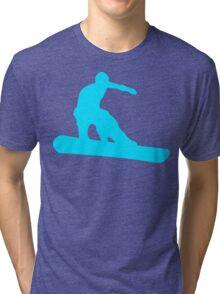 snowboard silhouettes Tri-blend T-Shirt