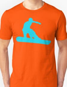 snowboard silhouettes Unisex T-Shirt