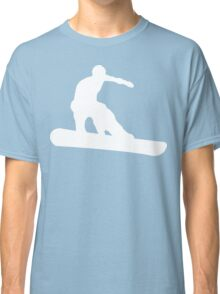 snowboard : silhouettes Classic T-Shirt