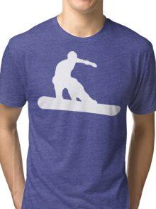 snowboard : silhouettes Tri-blend T-Shirt