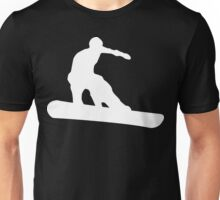 snowboard : silhouettes Unisex T-Shirt