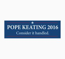Pope - Keating 2016 / Scandal - Murder Campaign  One Piece - Short Sleeve