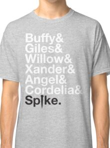 BUFFY THE VAMPIRE SLAYER AND SCOOBY GANG Classic T-Shirt