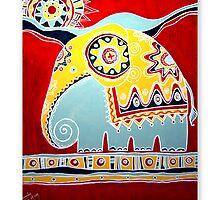 The Sun & Elephant by Thushan Sanjeewa