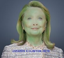 LIZARDS 4 CLINTON 2K16 by cynicalparakeet