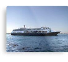 Amsterdam, Cruise Liner Metal Print