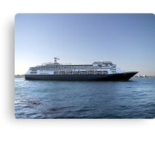 Amsterdam, Cruise Liner Canvas Print