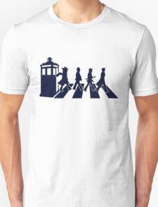 Tardis Road - Blue Unisex T-Shirt