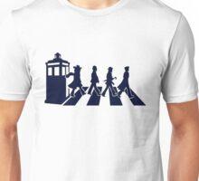 Tardis Road - Blue Unisex T-Shirt