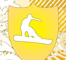 snowboard : hi-fi Sticker