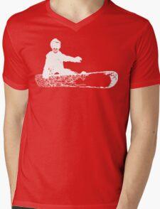 skeleboarder Mens V-Neck T-Shirt