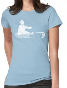 skeleboarder Womens Fitted T-Shirt