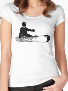 skeleboarder Women's Fitted Scoop T-Shirt