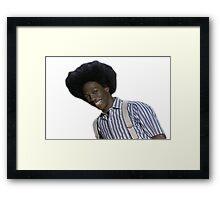 Buck Wheat Framed Print