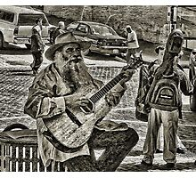 The Music Never Stops Photographic Print