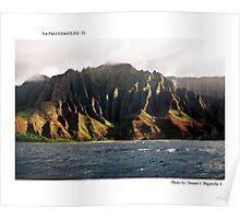 Na Pali Coastline IV Poster