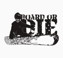 skeleboarder : board or die T-Shirt