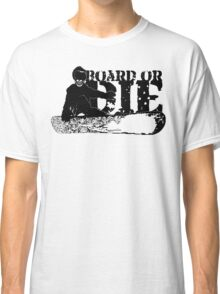 skeleboarder : board or die Classic T-Shirt