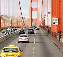 Driving over Golden Gate Bridge by SUBI