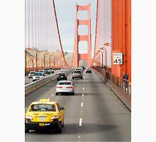 Driving over Golden Gate Bridge Unisex T-Shirt