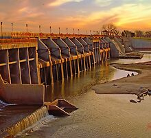 Overholser  Dam ( After Post Work ) by JohnDSmith