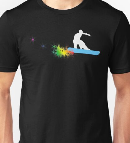 snowboard : powder trail Unisex T-Shirt