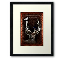 For My Eyes Have Seen Framed Print