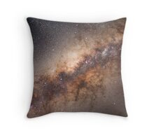 The Milky Way Galaxy Throw Pillow