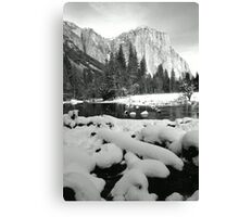EL CAPITAN, WINTER Canvas Print