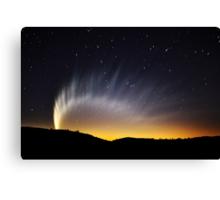 Rainbow of Comet McNaught Canvas Print