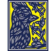 Rinaldo Bird Yellow Blue Photographic Print