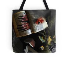 THE BOOK THAT SCREAMED Tote Bag