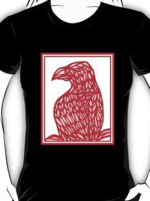 Berch Eagle Hawk Red White T-Shirt