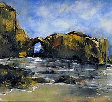 Pearl Beach Arch Laguna by Randy Sprout