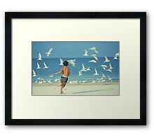 Action Framed Print