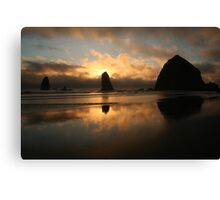 Creation At Twilight Canvas Print