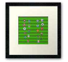 EPL~ 2014~2015 [Update LEGGINGS] Framed Print