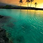 Sunset at Kiholo Bay by Yves Rubin