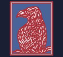 Sneathen Eagle Hawk Red Blue T-Shirt