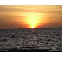 Sunset over Darwin Photographic Print