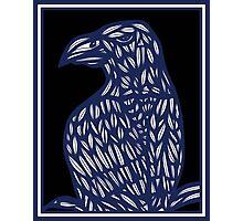 Bindel Eagle Hawk Blue Black Photographic Print